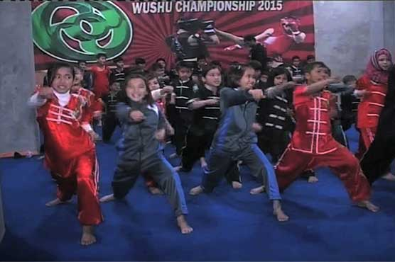 Quetta kids in love with Wushu, 250 players under training at club