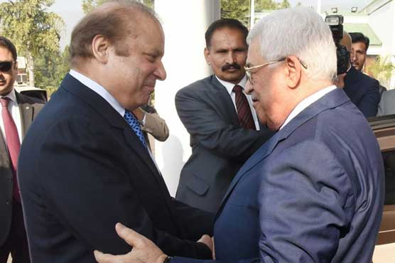Palestinian president arrives in Islamabad today