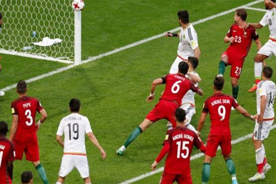 Football: Portugal beat Mexico to finish third at Confed Cup
