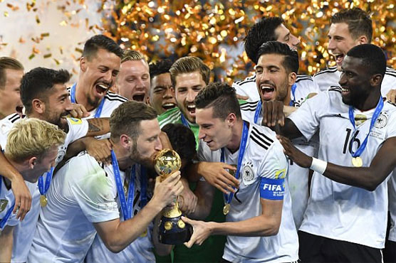 Football: Stindl tap-in wins Germany Confederations Cup