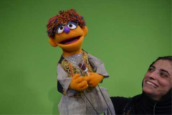 Afghanistan's Sesame Street gets proud brother muppet