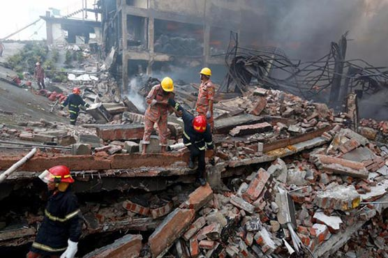 Explosion at factory in Bangladesh