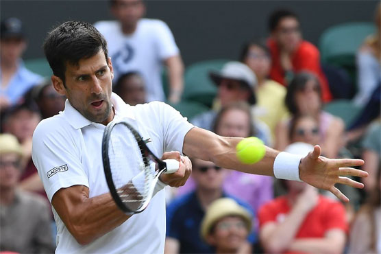 Image result for Wimbledon : Djokovic, Federer stroll into 3rd round