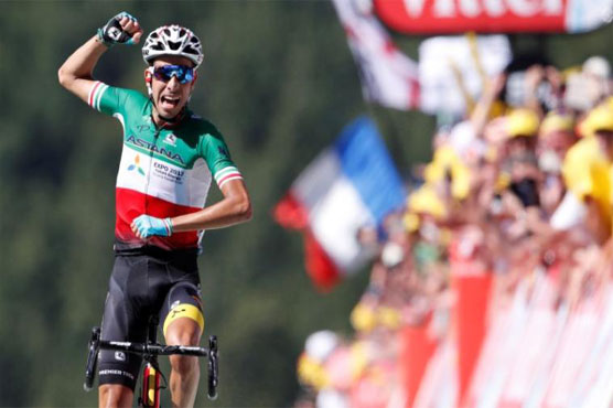 Frenchman Calmejane wins Tour de France stage eight