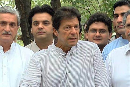Imran submits chart of money trail in SC