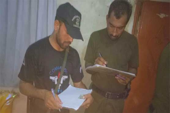 Lahore: Police detain 5 suspects during combing operation