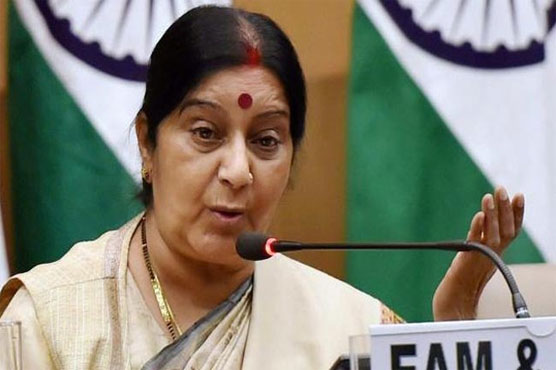 If Sartaj recommends India will issue medical visas to Pakistan nationals: Swaraj