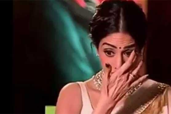 Sridevi gets emotional in video message for Adnan Siddiqui, Sajal Ali