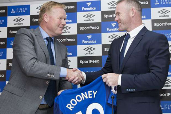 Everton is no 'retirement home', says Rooney