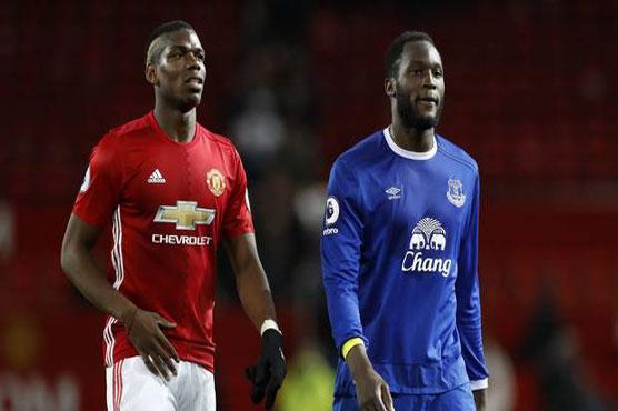 Football: Pogba behind record United deal: Lukaku