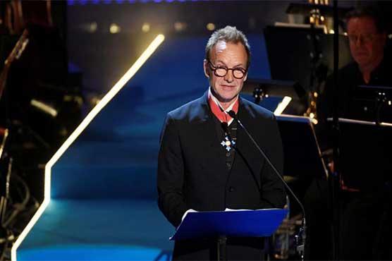 Sting donates Swedish music prize money to refugees