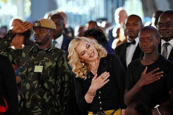 Malawi hails Madonna's 'motherly spirit' at opening of new hospital