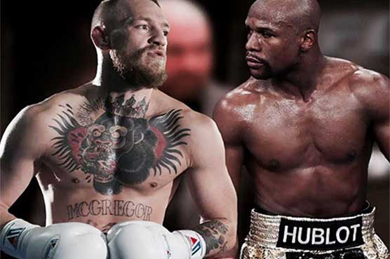 Floyd Mayweather, Conor McGregor trade verbal jabs at pre-fight press conference