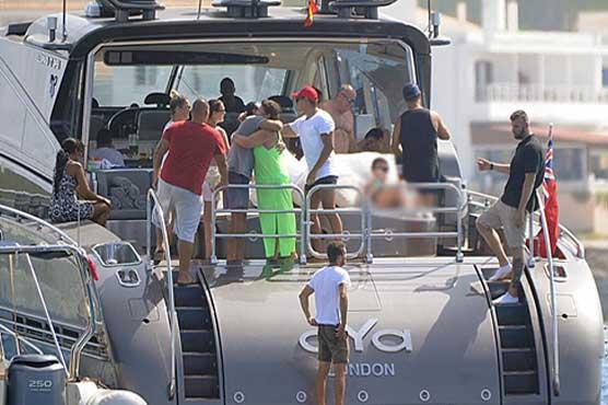Cristiano Ronaldo's yacht checked by Spanish Customs Tax Agency