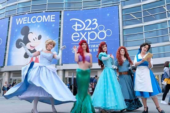 Disney gathers princesses to showcase animation slate