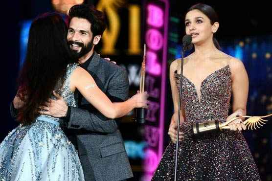 Shahid, Alia named best actors for Udta Punjab at IIFA 2017