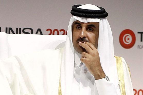 Qatar said in late May that hackers had posted fake remarks by the emir
