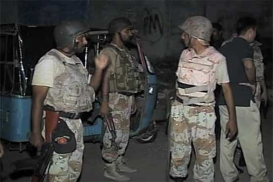 Karachi: 17 accused arrested during Rangers operation