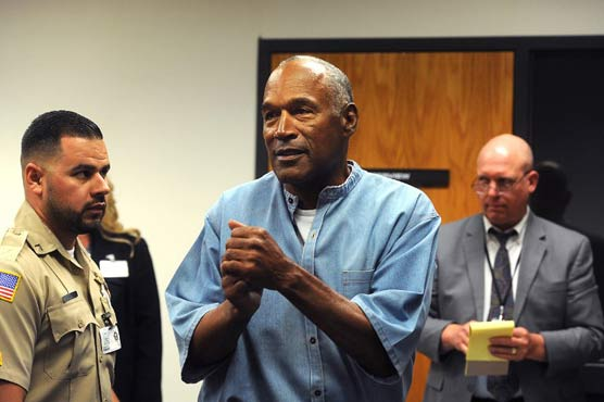 OJ Simpson WILL be released from prison