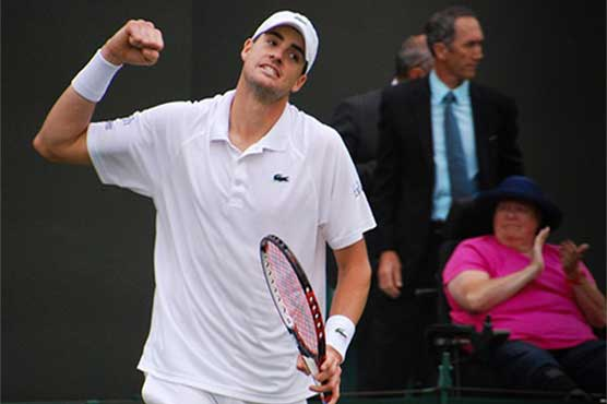 Seeded John Isner reaches Hall of Fame semifinals