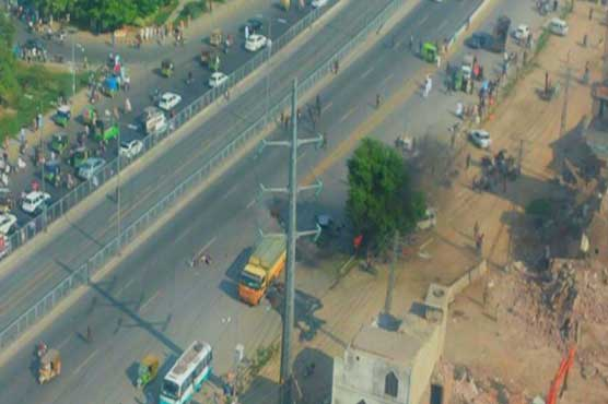 At least 28 martyred in blast near Lahore's Ferozpur Road