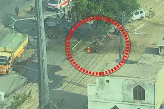 Five killed, over dozen wounded in explosion near Arfa Karim Technology Park