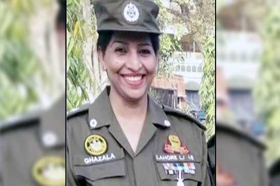 Women in uniform: Lahore's first female SHO in 17 years