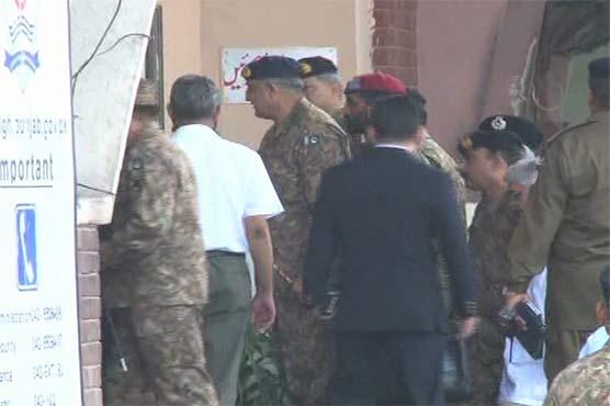 COAS Bajwa meets Lahore blast injured in general hospital visit