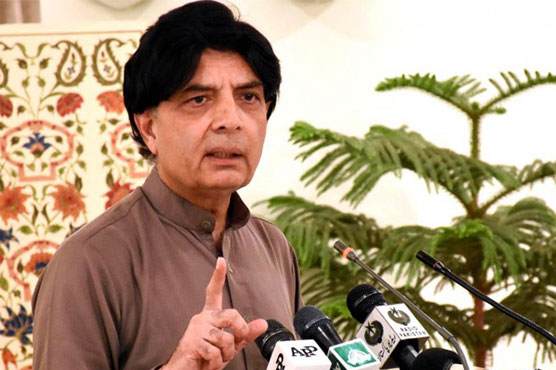 Nisar vows to stand with Nawaz Sharif through thick and thin
