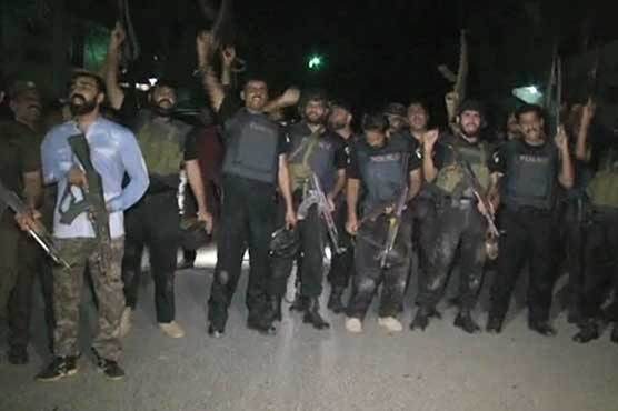 Four alleged dacoits killed in encounter with police in Lahore