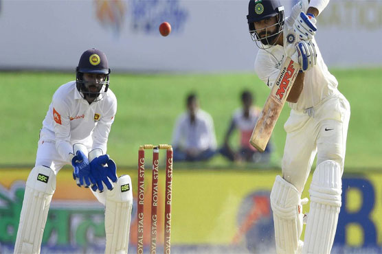 First Test: Sri Lanka hit back as India consolidate (Lead Lunch)