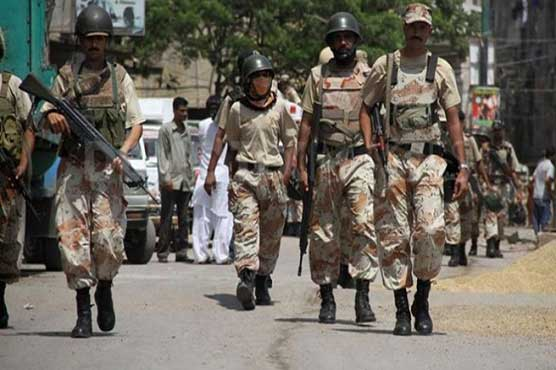 Karachi: 20 suspects nabbed in Rangers search operation