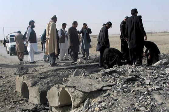 Four killed in Panjgur blast near Pak-Iran border