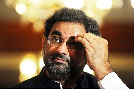 Shahid Khaqan's nomination challenged in SC Lahore registry