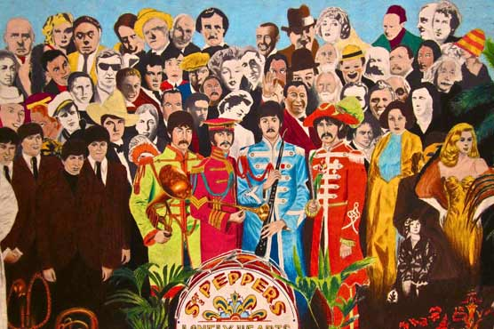 After 50 years, handful of survivors on 'Sgt. Pepper' cover