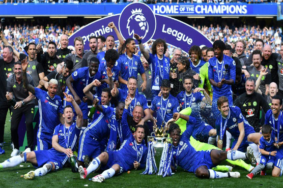 Record pay-out for champions Chelsea
