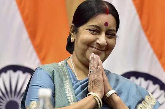 Sushma Swaraj assures medical visa to ailing Pakistani infant