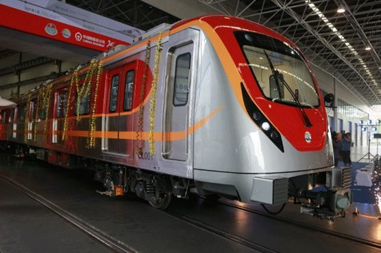 Whopping amount earmarked for Orange Line train project in Punjab budget