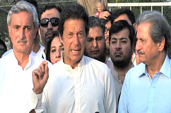 Impression of rulers' repeated accountability false: Imran Khan
