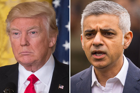 Trump's sons stand by father's criticism of London mayor