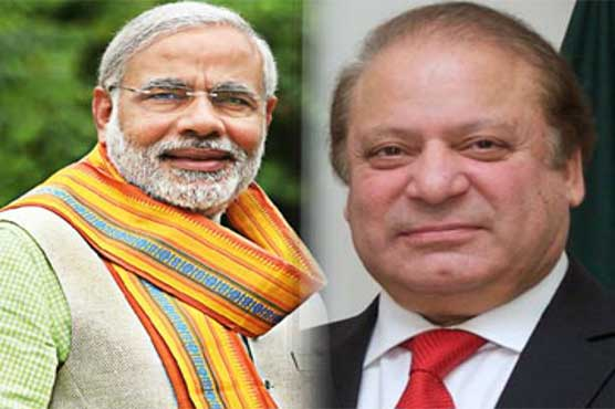 Indian media claims that Narendra Modi shook hand with Nawaz Sharif in Astana on Thursday