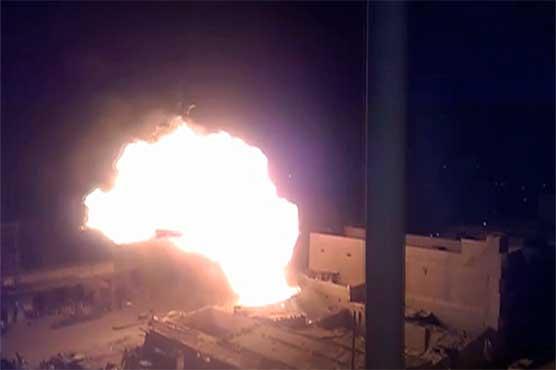 Five sustain burns as gas cylinders explode in Karachi, Rawalpindi