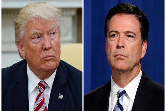 USA  investigators seek Trump-Comey conservation memos