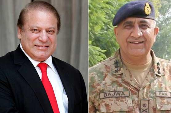 Army Cheif and Nawaz Sharif