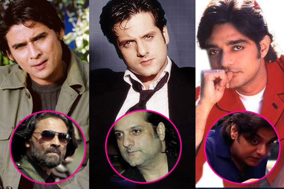 Unrecognizable Bollywood stars of the past