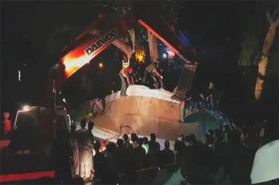 Pakistan News - Uch Sharif: 6 killed as bus falls from overhead bridge