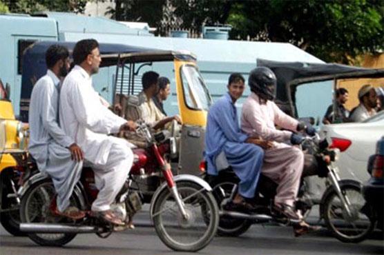 Sindh government bans pillion riding on Youm-e-Ali