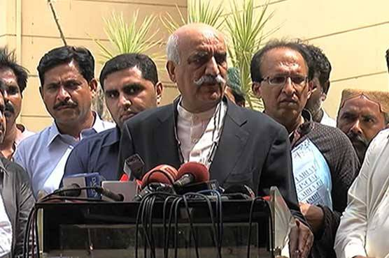 Image result for Khursheed Shah asks PM to dissolve Assembly if he is truthful