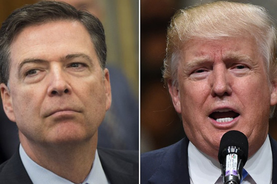 'Witch Hunt': Trump confirms he is being investigated over Comey firing