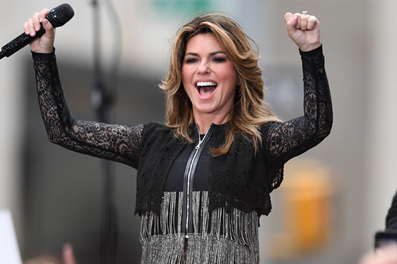 Country star Shania Twain announces comeback